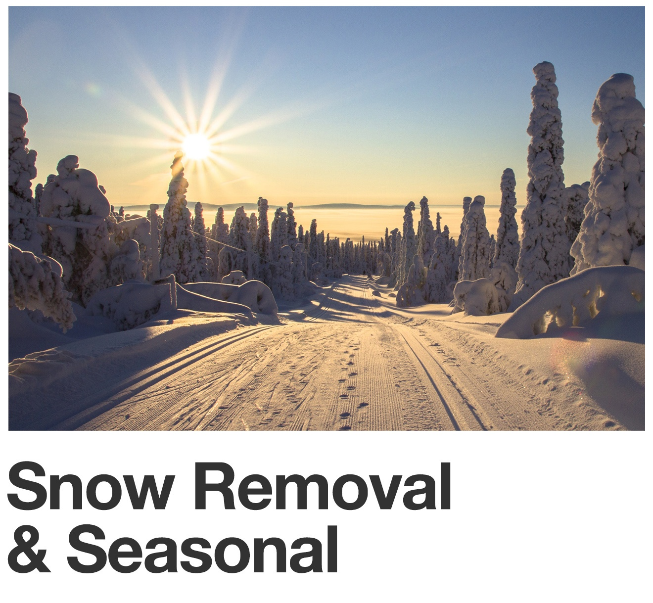 Snow Removal & Seasonal